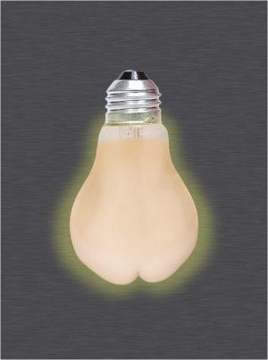 Light Butt - 0091 - Konstnär: Bengt Grönkvist