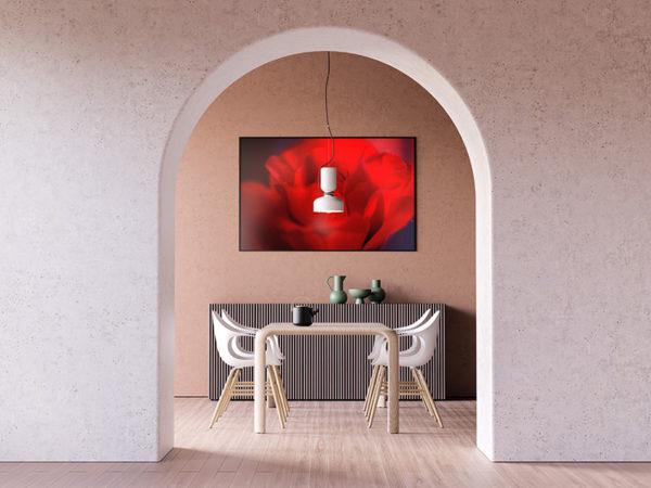 0147 So Red The Rose - Naturfoto - Konstnär: Bengt Grönkvist