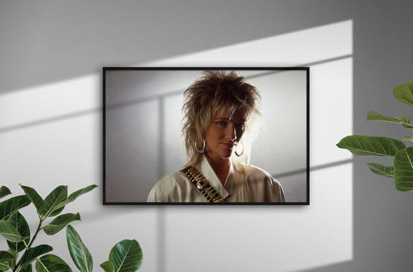 Ramexempel: Marie Fredriksson, 1985. Fotograf: Bengt Grönkvist.