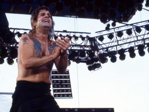 Ozzy Osbourne, Donnington 1985. Fotograf: Bengt Grönkvist.