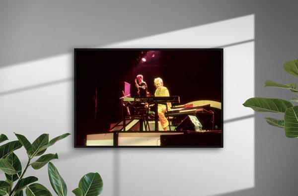 Ramexempel: Howard Jones, Royal Albert Hall, London 1984. Fotograf: Bengt Grönkvist.