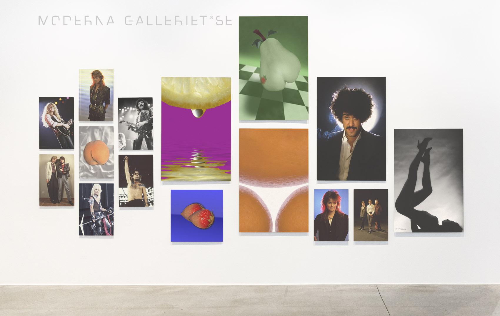 Moderna Galleriet - Gallerivägg